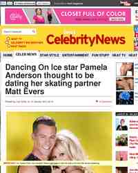 Dancing On Ice star Pamela Anderson thought to: heatworld